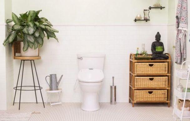 Omigo Bidet Toilet Seat With Drying Fan Deco