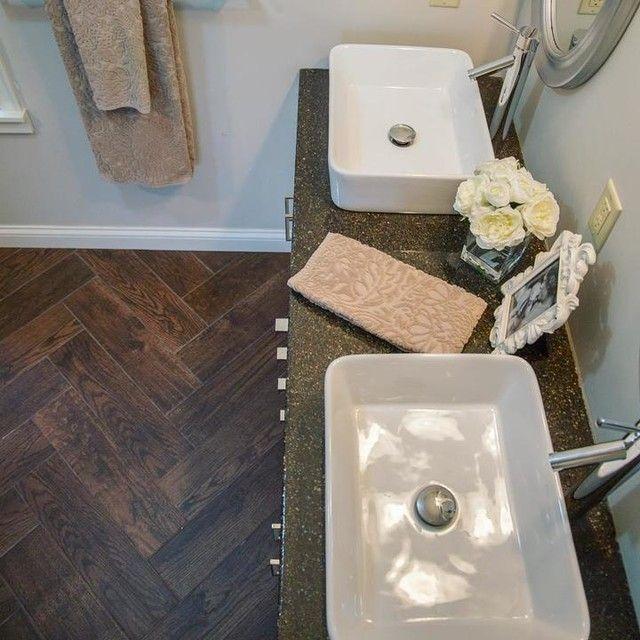 Cleveland Wengue Faux Wood Tile 9x47