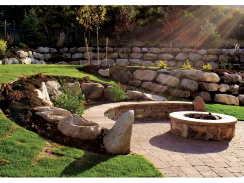 Pin by Sara Miller on Fire Pit Landscaping Fire pit