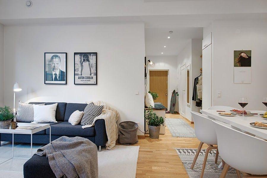 Un apartamento nórdico con mucho estilo