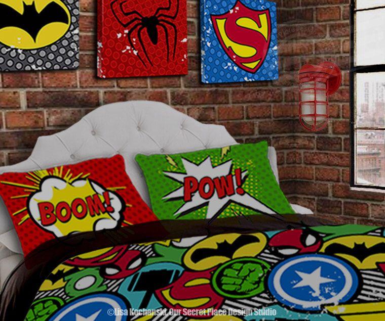 Superhero Bedding For Boys Bedding Twin Superhero Duvet Boys