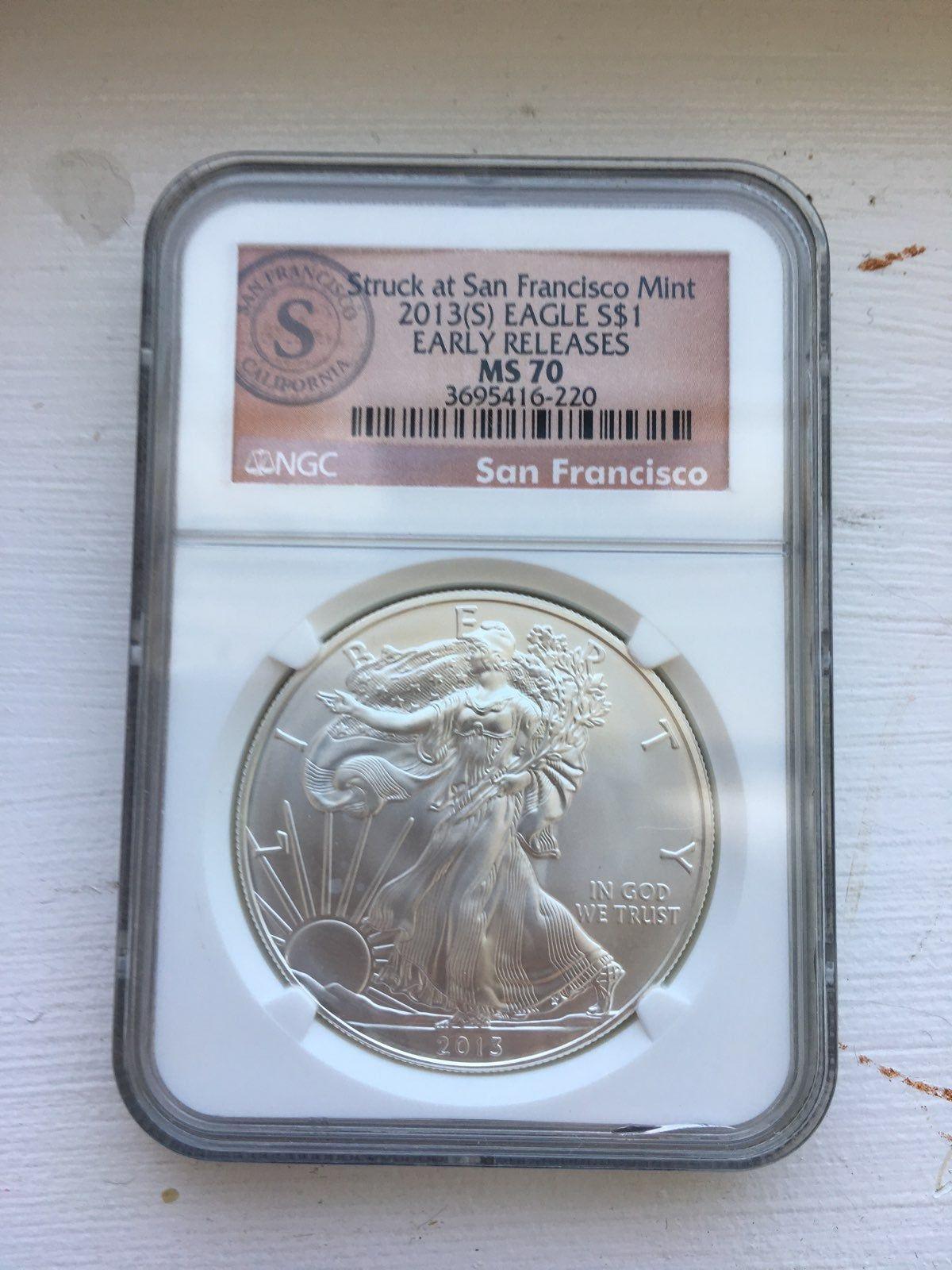 2006 W Burnished 1 oz American Silver Eagle $1 NGC MS69 SKU16889