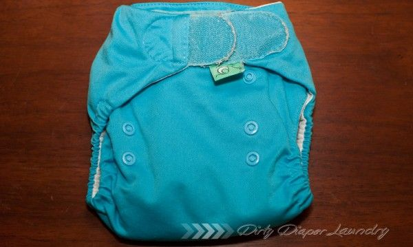 Could it be? The best velcro diaper ever!