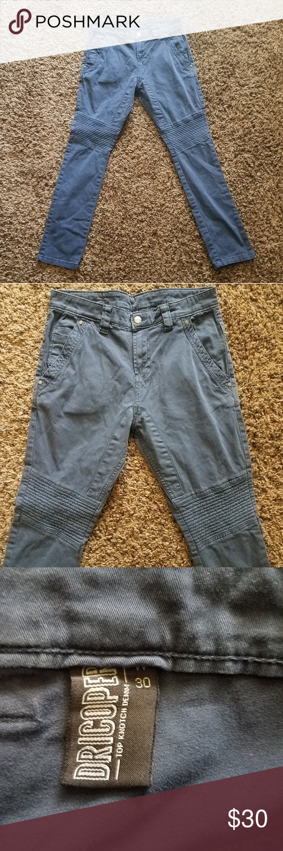Men's Clothing Clothing, Shoes, Accessories Expressive Cos Navy Slim Fit Chinos Size 30