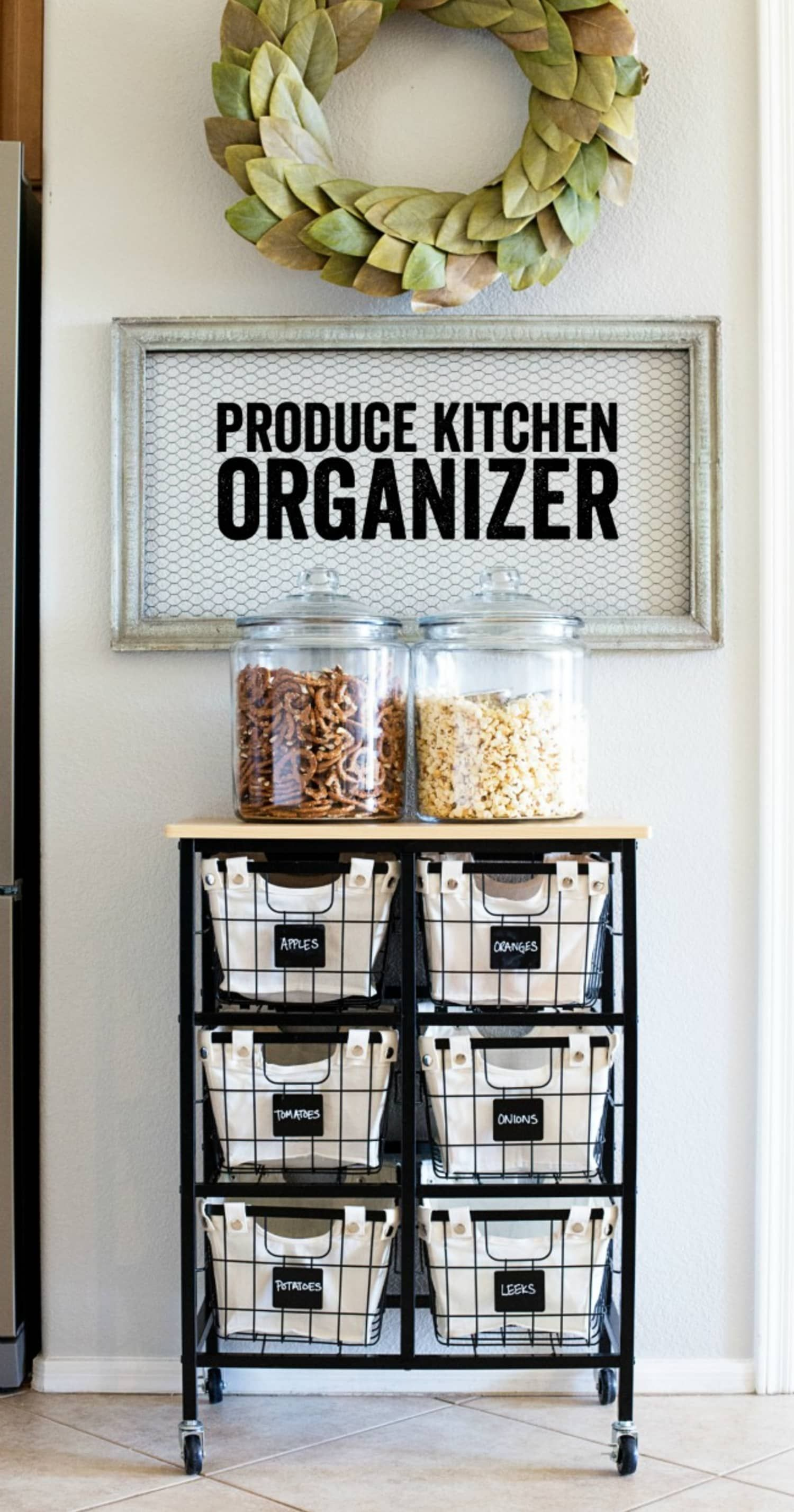 Don't Let Your Small-Space Kitchen Go Pantry-less—Try These Easy DIYs Instead