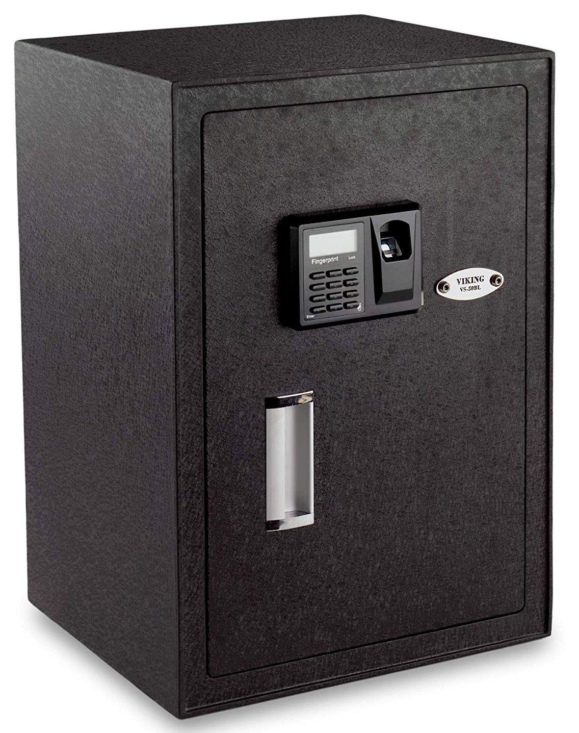 Large Bio metric safe Made of steel Upgraded 500 DPI