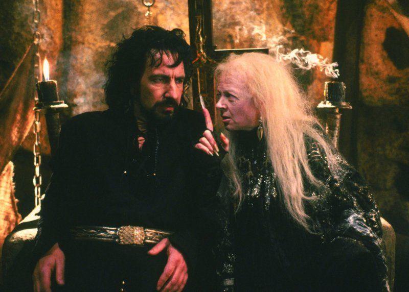 Alan Rickman And Geraldine Mcewan In Robin Hood Prince Of