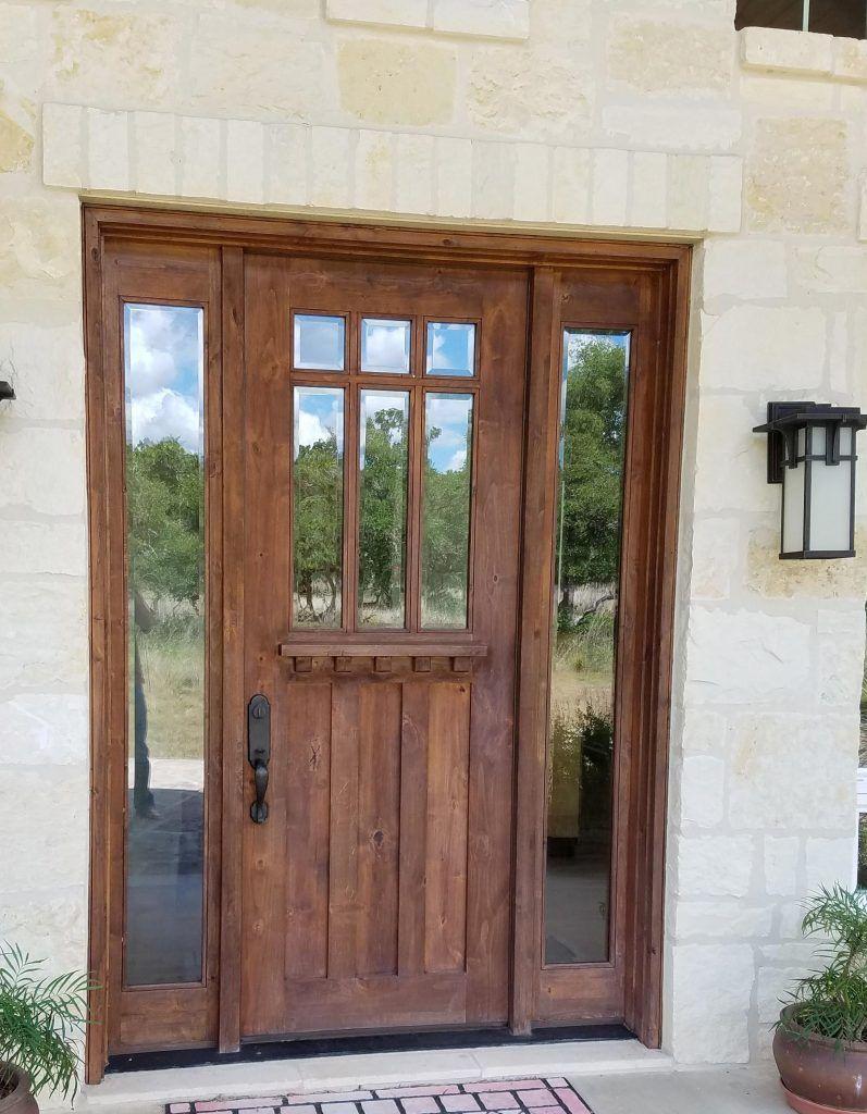 How To Repair Sun Damage On An Exterior Door Exterior Doors