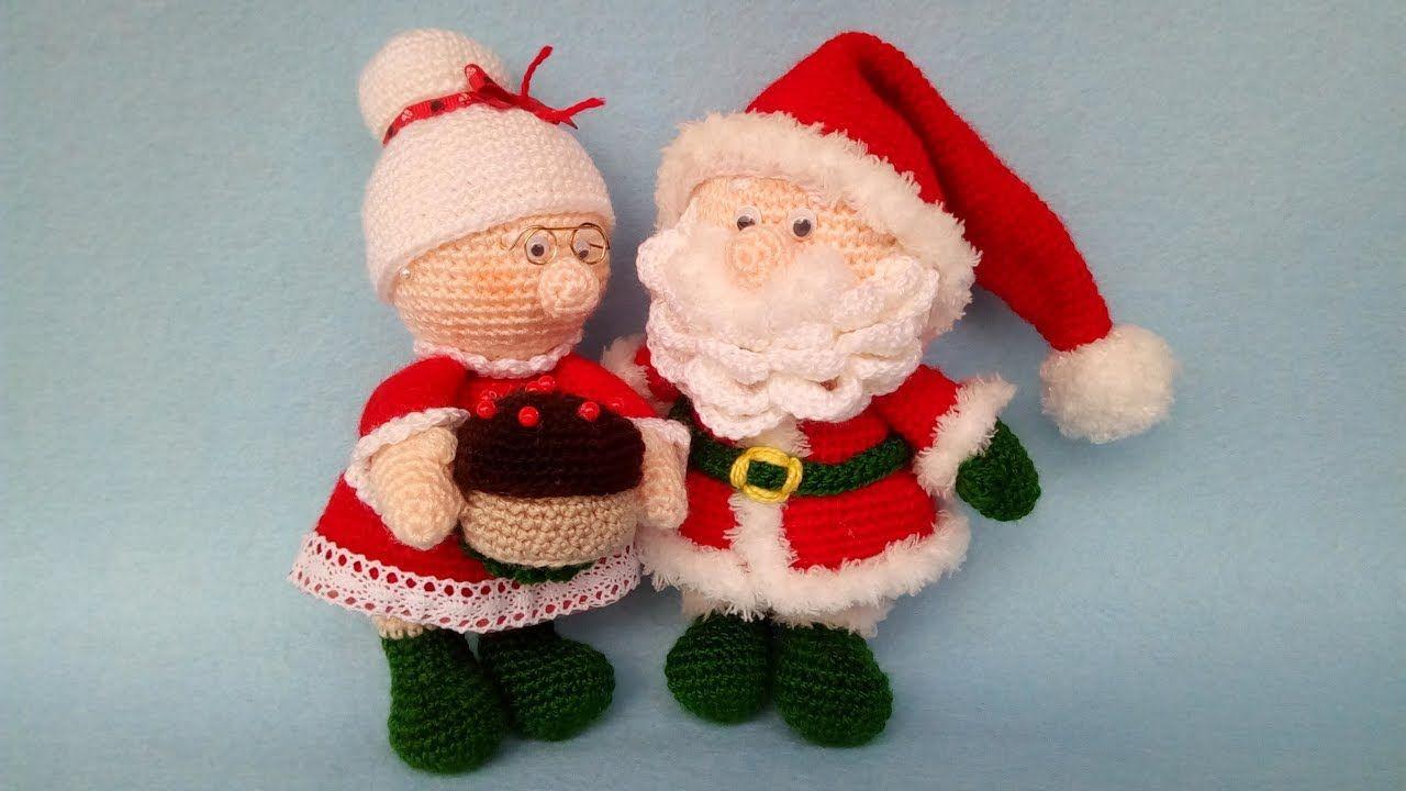Mrs Santa Claus Amigurumi Crochet Bambola Uncinetto Doll Crochet Crochet Xmas Crochet Christmas Snowflakes Christmas Crochet