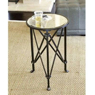 Marvelous A Little Expensive For A Side Table But This Might Just Be The Perfect  Little Table For Between The Chairs In The Bedroom. Ballard Designs Olivia  Mirrored ...