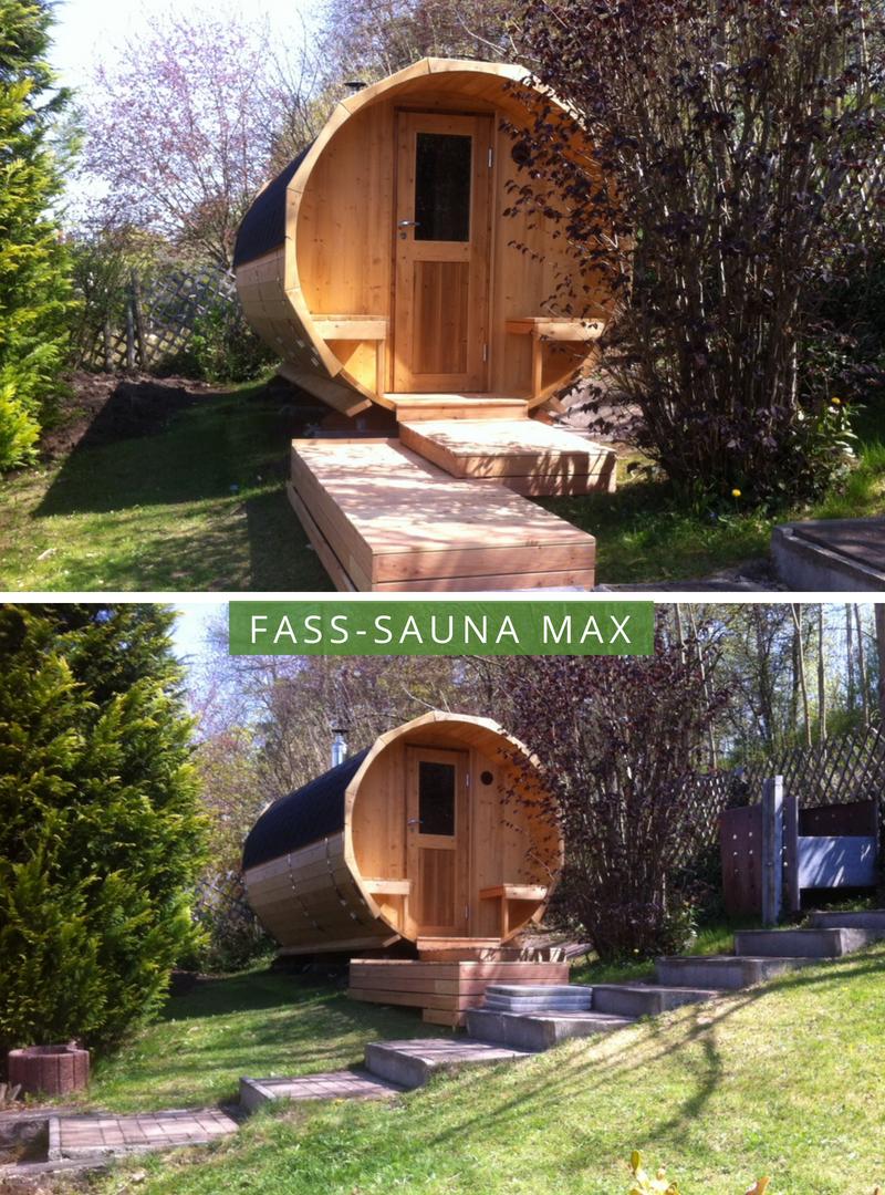 Finntherm Fass Sauna Max Eine Sauna Für Den Garten Outdoor Sauna