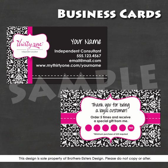 Thirty e Business Cards Vistaprint