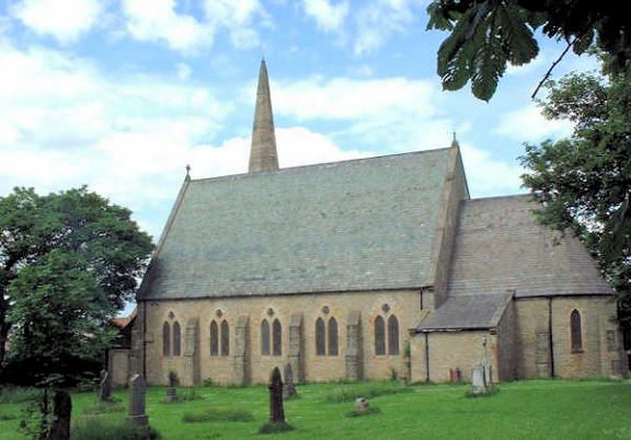all saints church shildon