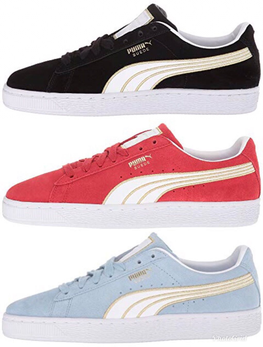 Put a sporty twist on a classic with the PUMA® Suede Varsity sneaker. Soft 4a50427ec