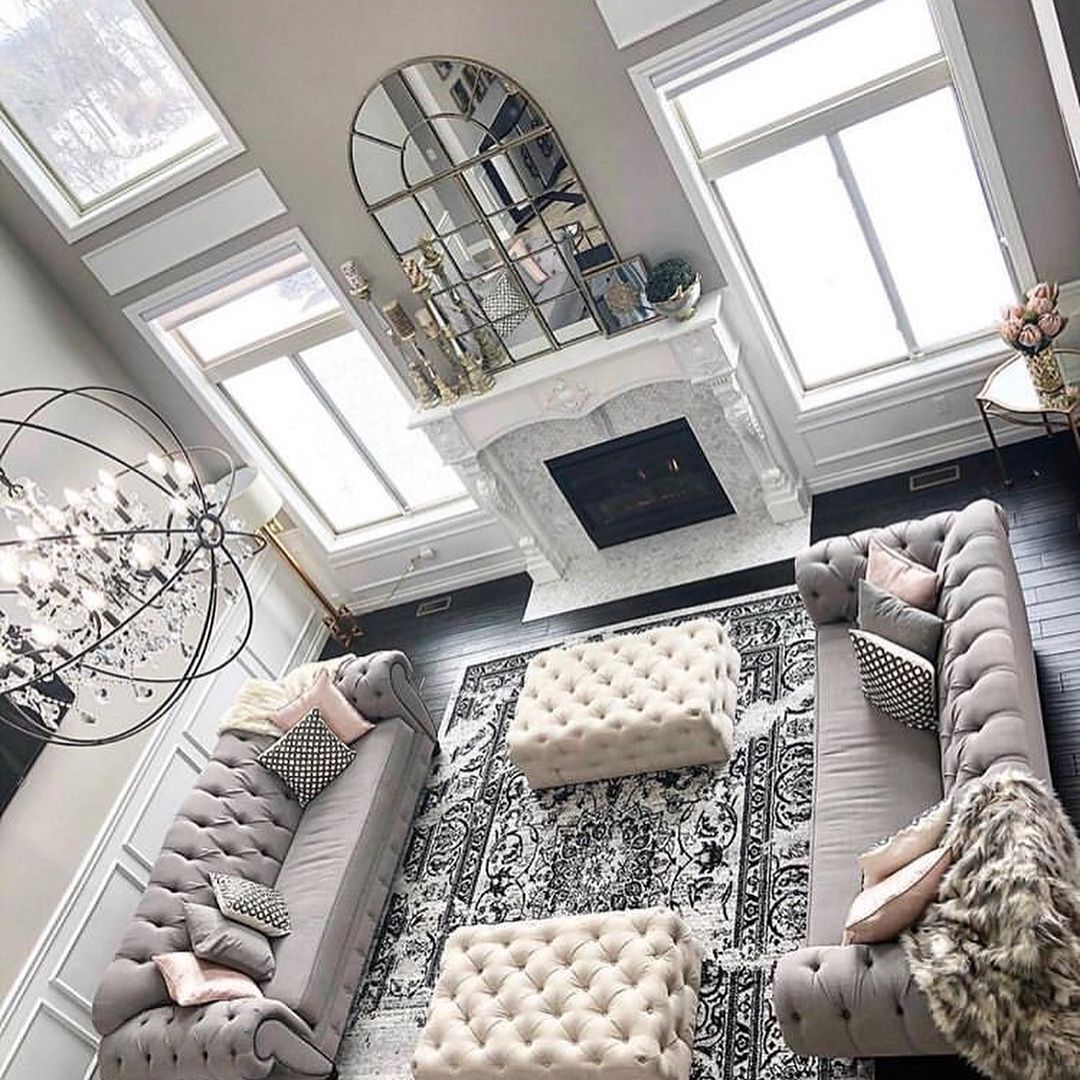 37 White And Silver Living Room Ideas That Will Inspire You Home Decor Bliss Bliss Decor Home In 2020 Silver Living Room Living Room Grey Living Room Decor Gray