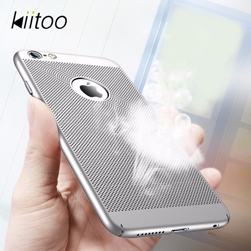 Kiitoo Phone Cases For Coque Iphone 6 6s Plus Case With Breathing Hole Protective Cover Shell For Fundas Iphone 6 6s Plus Capa Iphone Iphone 7 Plus Cases Phone