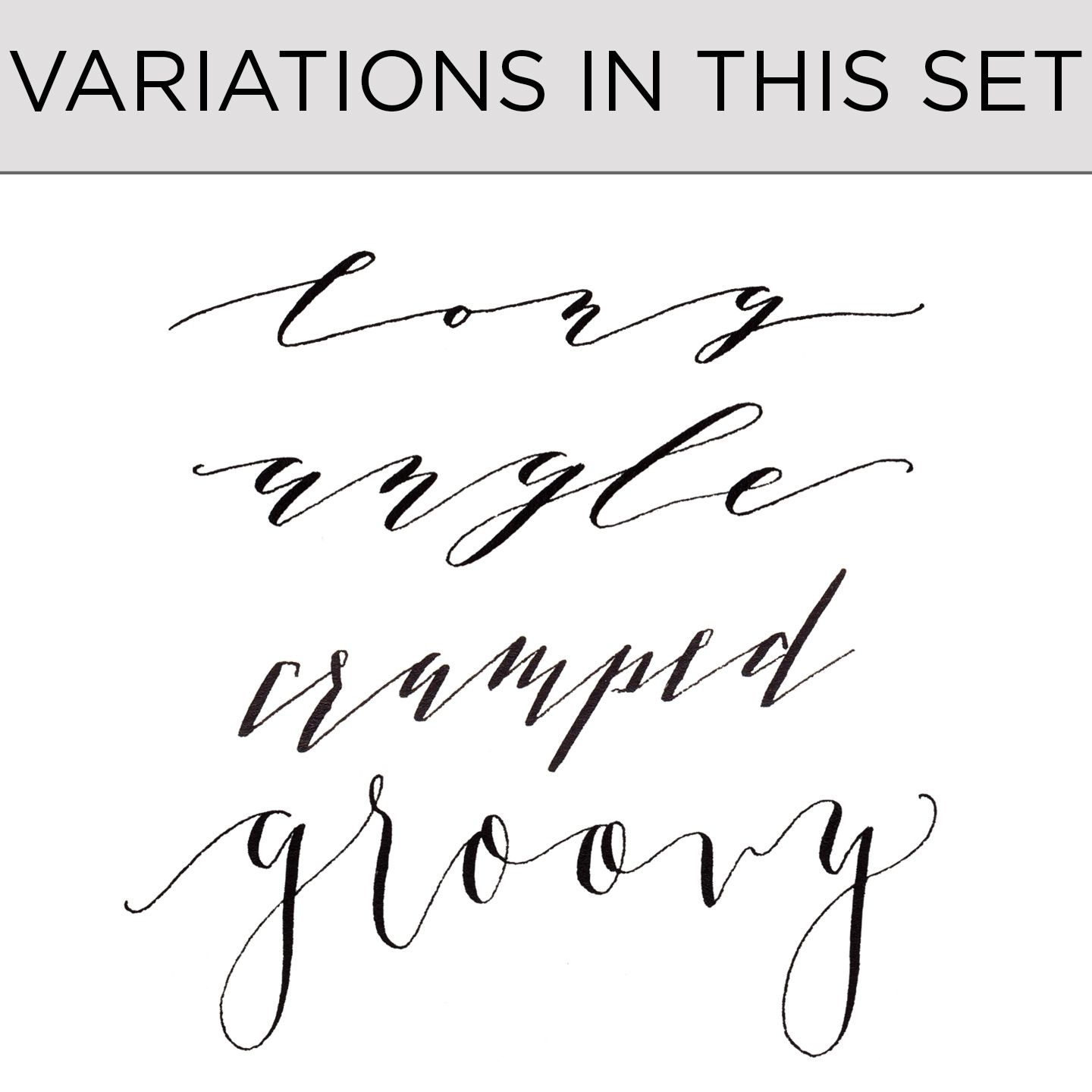 Premium Calligraphy Worksheet Add On Kaitlin Style