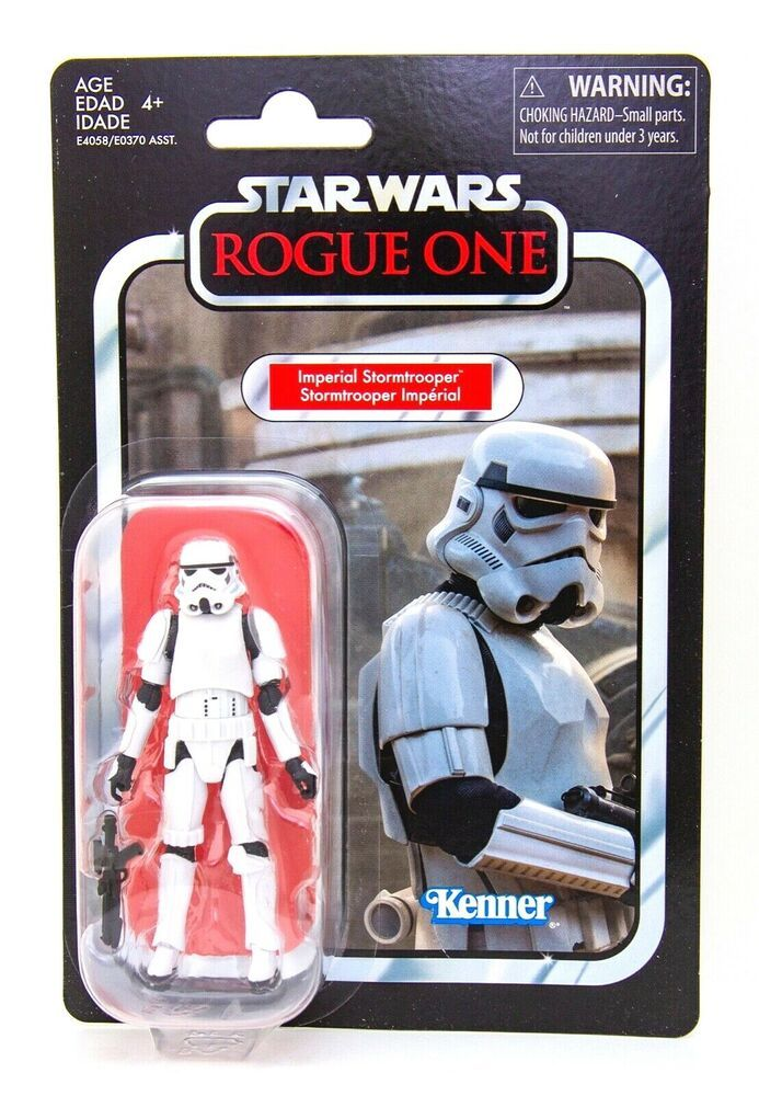 2019 Star Wars Vintage Collection VC140 Imperial Stormtrooper MOC