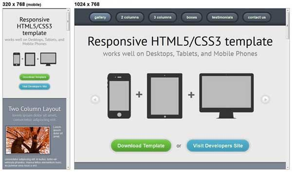35 Useful Responsive Html And Css Templates