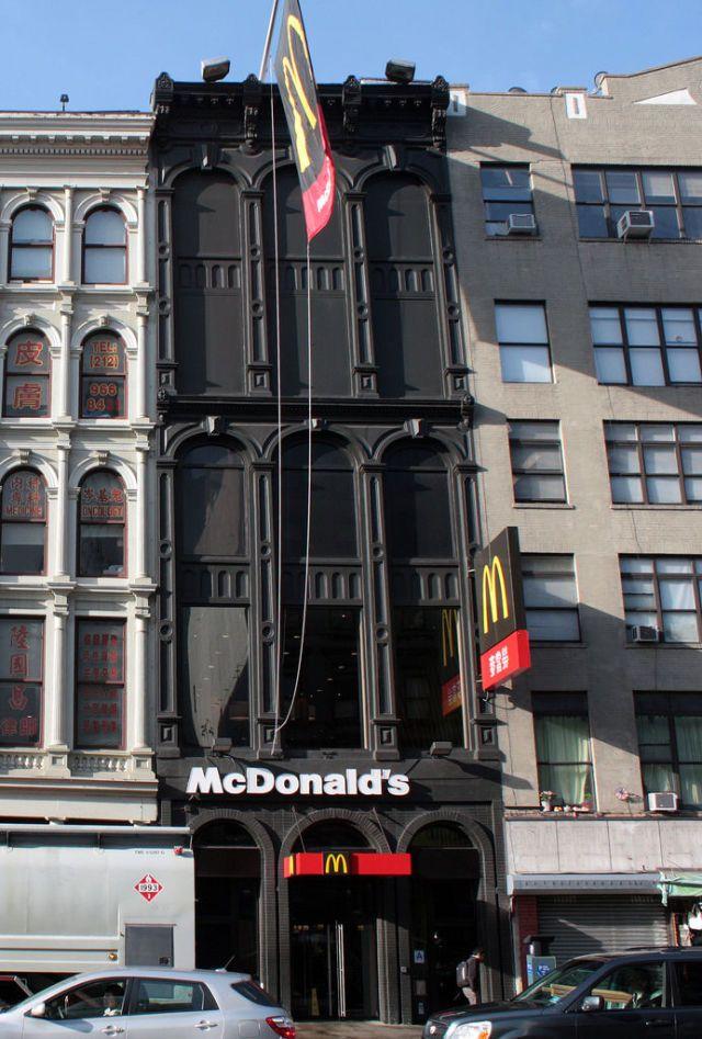 Los Mcdonalds Mas Inusuales 35 Fotos New York Architecture