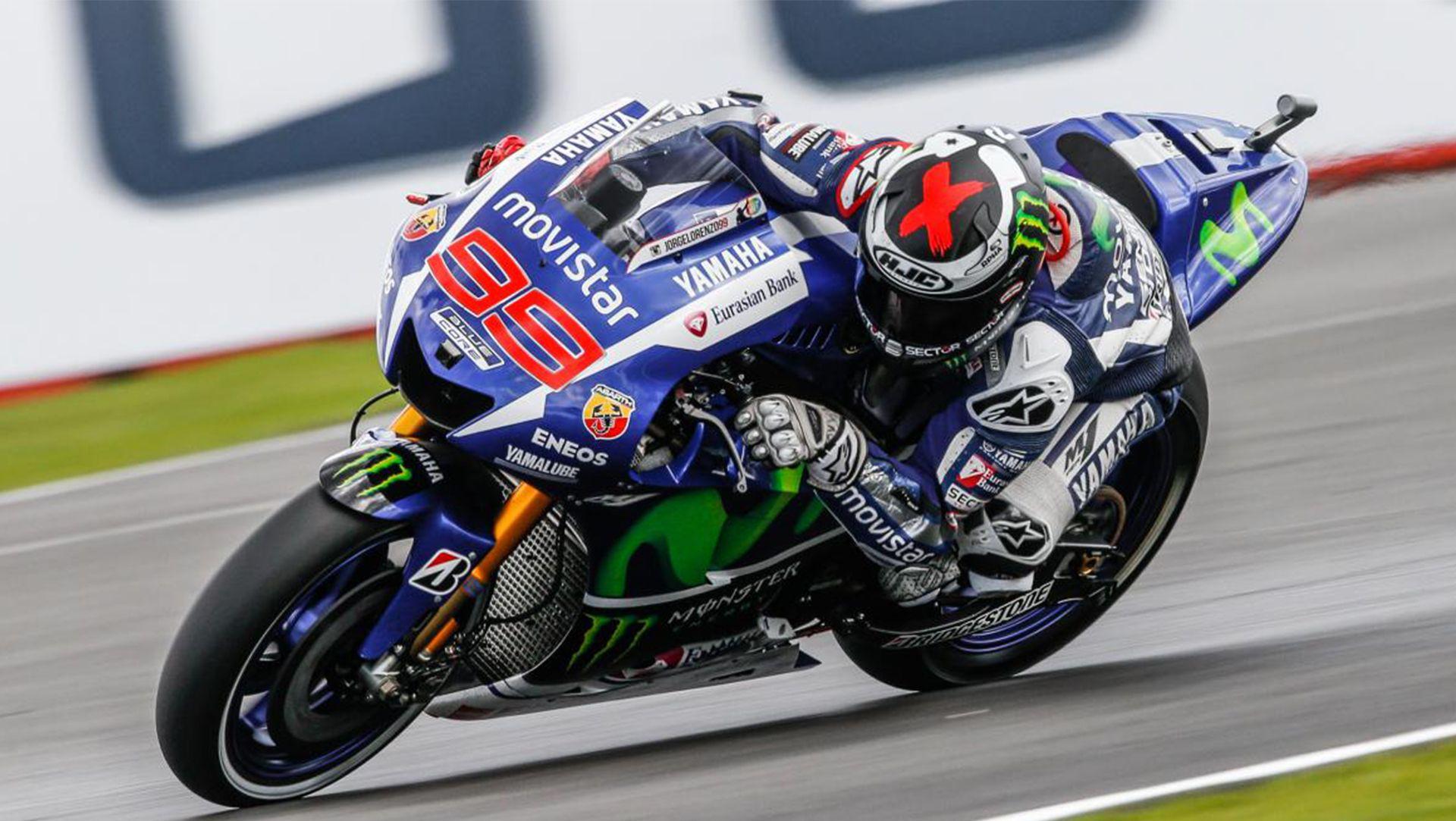 Jorge Lorenzo ready to fight at the Gran Premio TIM di San Marino e della Riviera di Rimini after a tough British GP.Rain at Silverstone ended Jorge L...