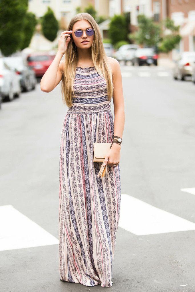 Bring The Boho Maxi Dress – Swoon Boutique  b8e5cb7fc2e