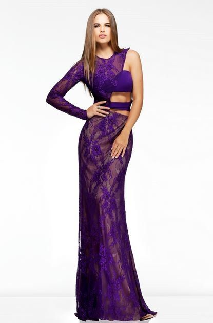 side cut out prom dress | ... Sexy Slim One Sleeve Side Cut Out ...