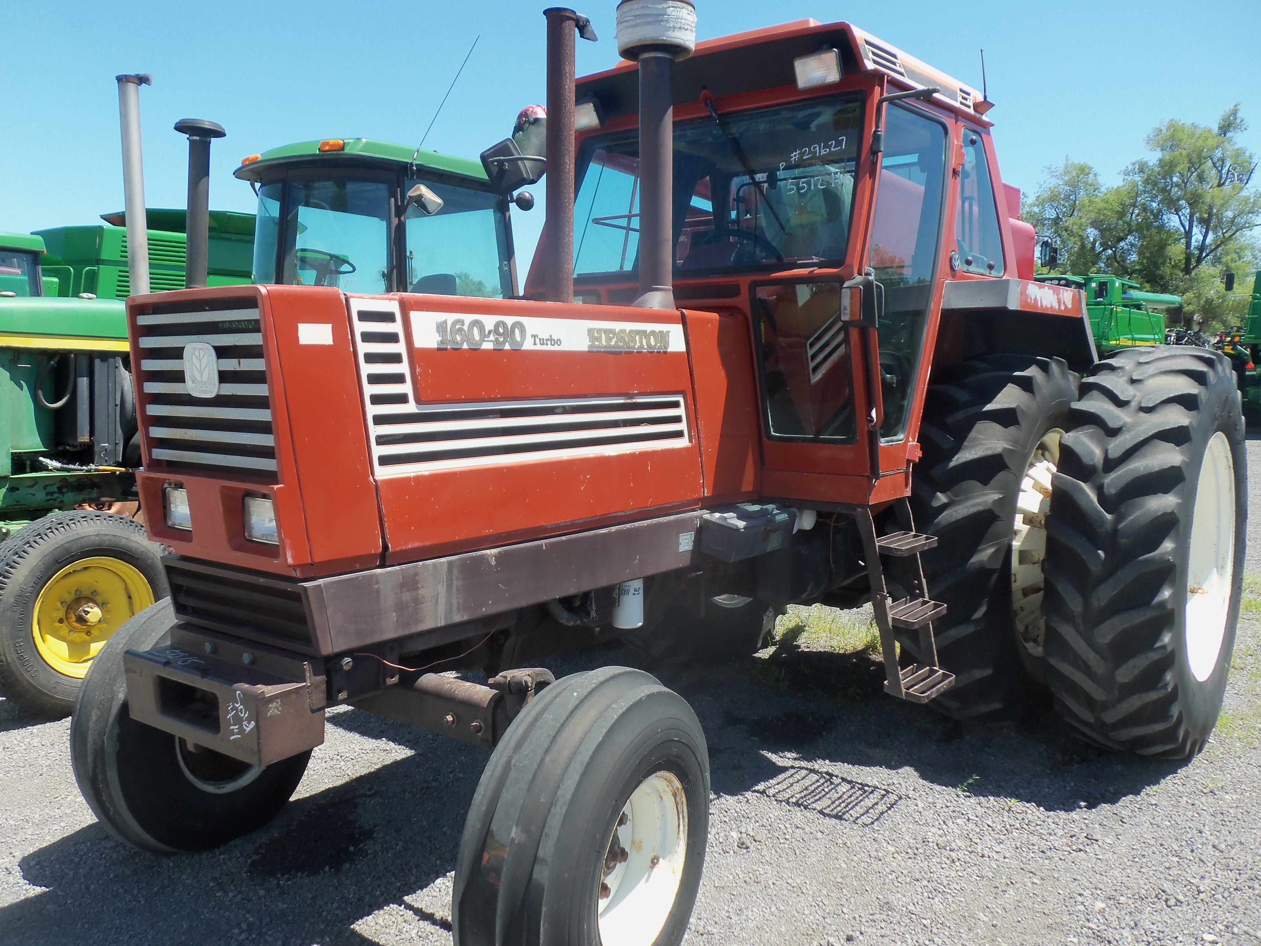 Fiat Hesston Tractors Farm : Hesston turbo tractor with duals tractors