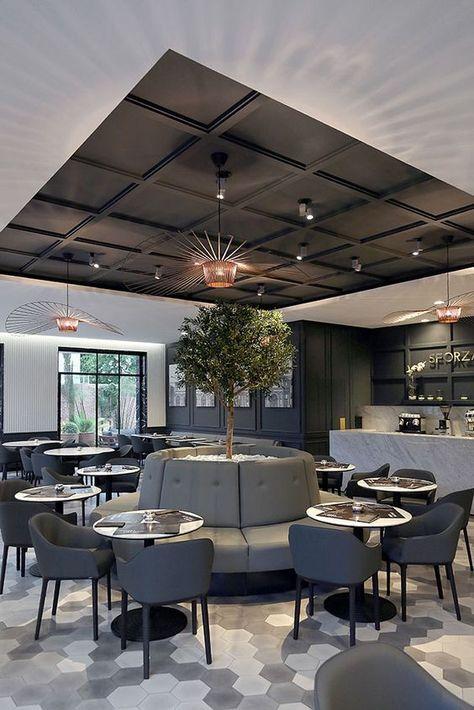 Restaurant Sforza Visconti par umdum design