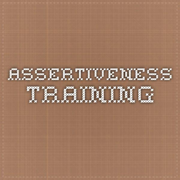Assertiveness training