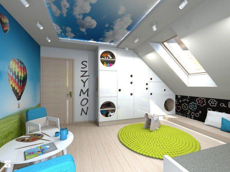Déco chambre bébé mansardée - Idées de tricot gratuit