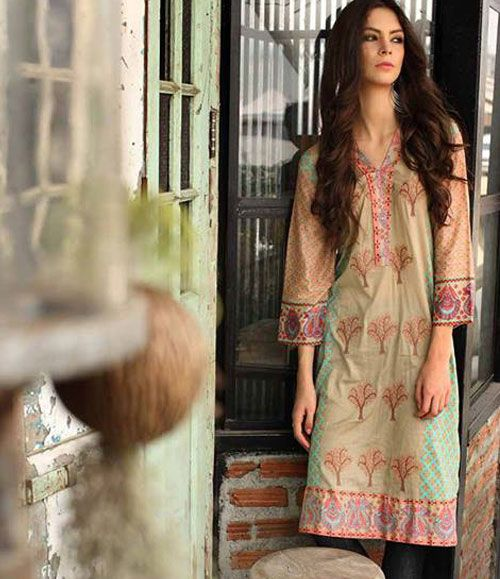 kalyan Embroidered Kurtis Collection ZS-6A