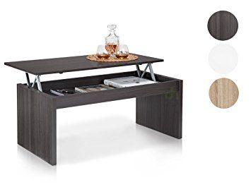 Due Home Table Basse Grise Avec Plateau Relevable: Amazon.fr: Cuisine U0026
