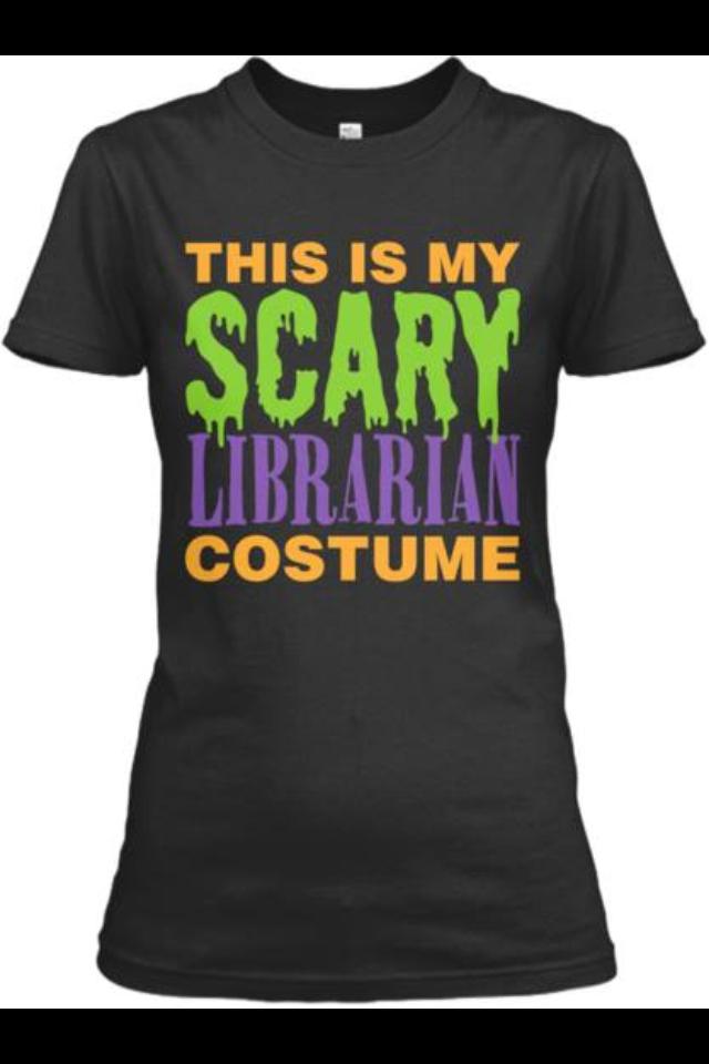 Halloween librarian (With images) Teacher halloween
