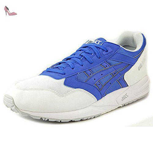 chaussure asics bleue hommes