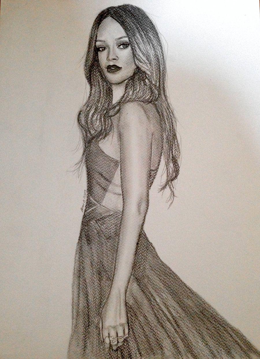 pinyailin montes on draws   pinterest   rihanna, drawings and