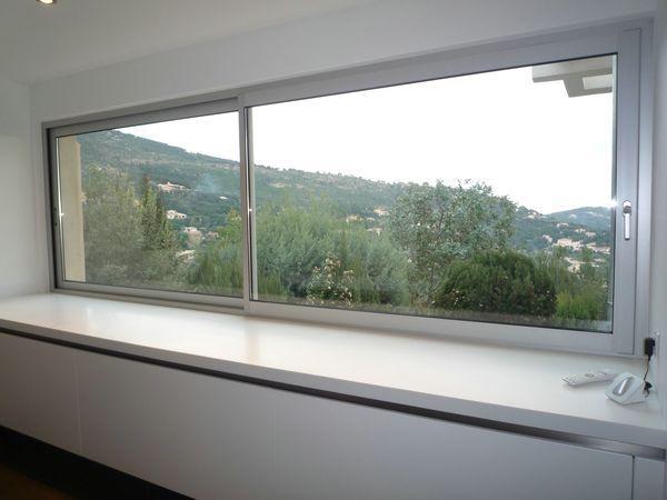 → Fenetre Coulissante sur Mesure Fenêtres Aluminium Coulissantes - porte coulissantes sur mesure
