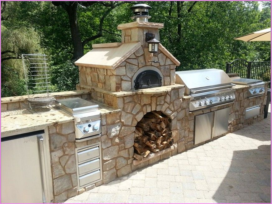 easy outdoor pizza oven diy kits wood fired kitchen