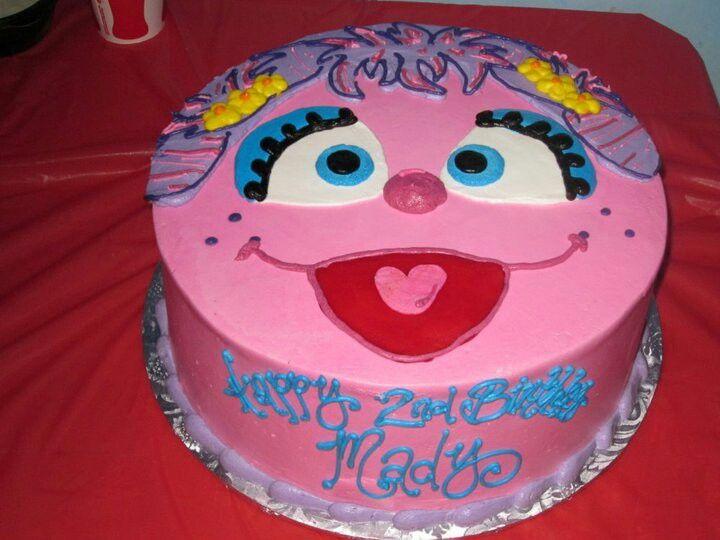 Awesome Abby Cadabby Birthday Cake For The Sesame Street Lovers Personalised Birthday Cards Veneteletsinfo