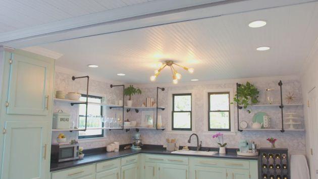Installing a Beadboard Ceiling Video | DIY | farmhouse in ...