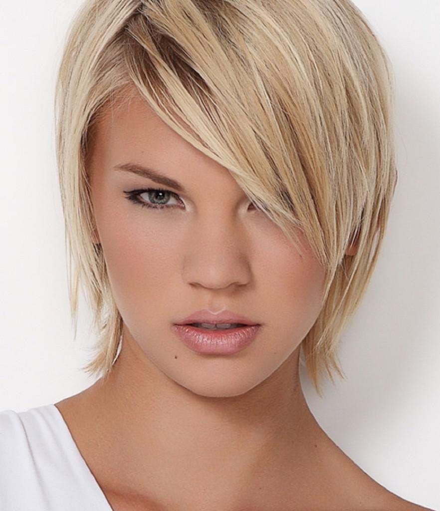 Short Hairstyle For Long Face Thin Hair Google Search Hair Cut