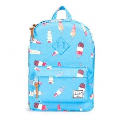 Heritage Kids Ice Cream Backpack Blue Herschel Handväskor 780ebfaed3a70