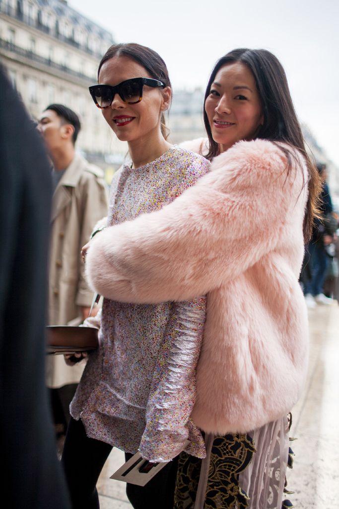 Paris Fashion Week Fall 2016 street style #PFW [Photo: Kuba Dabrowski]