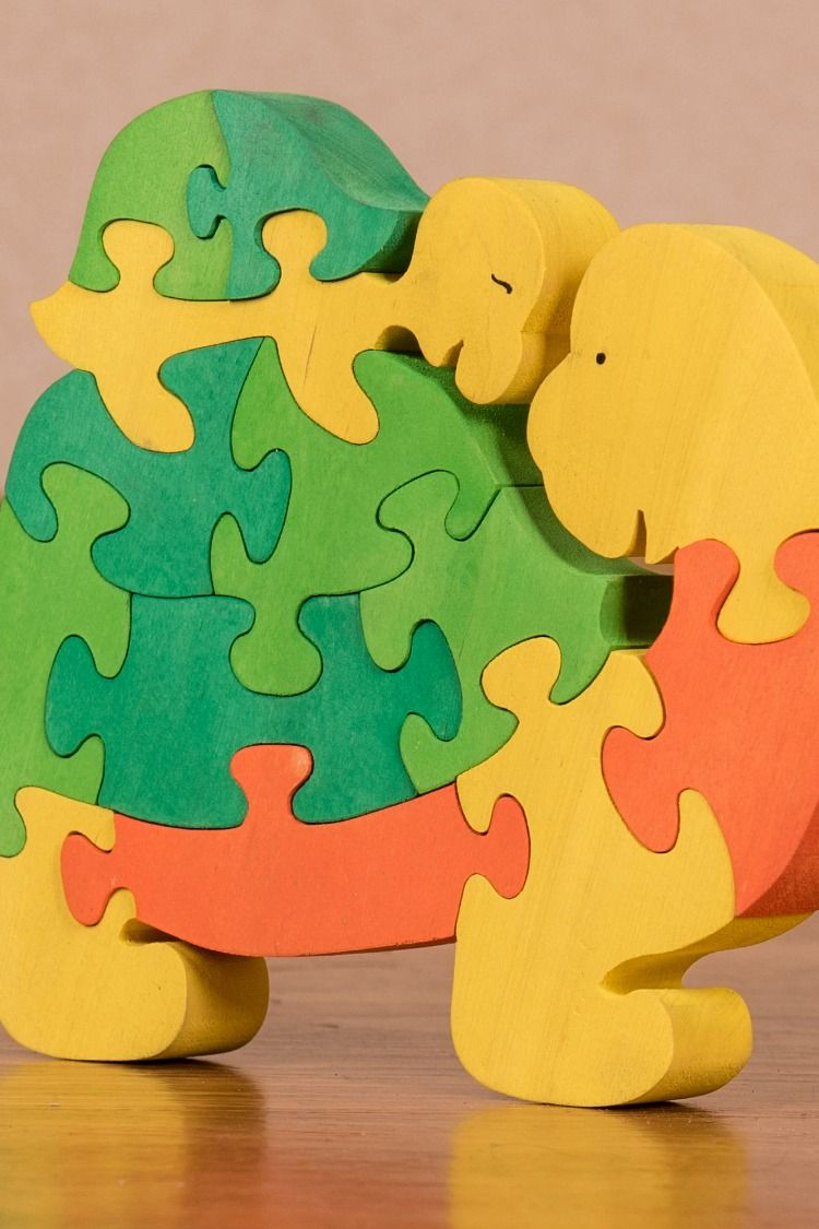 Wooden Jigsaw Puzzles For Toddlers Kids Baby 2 3 4 5 Years Old Preschool Toys Turtle Kids Wooden Toys Wooden Jigsaw Wooden Jigsaw Puzzles