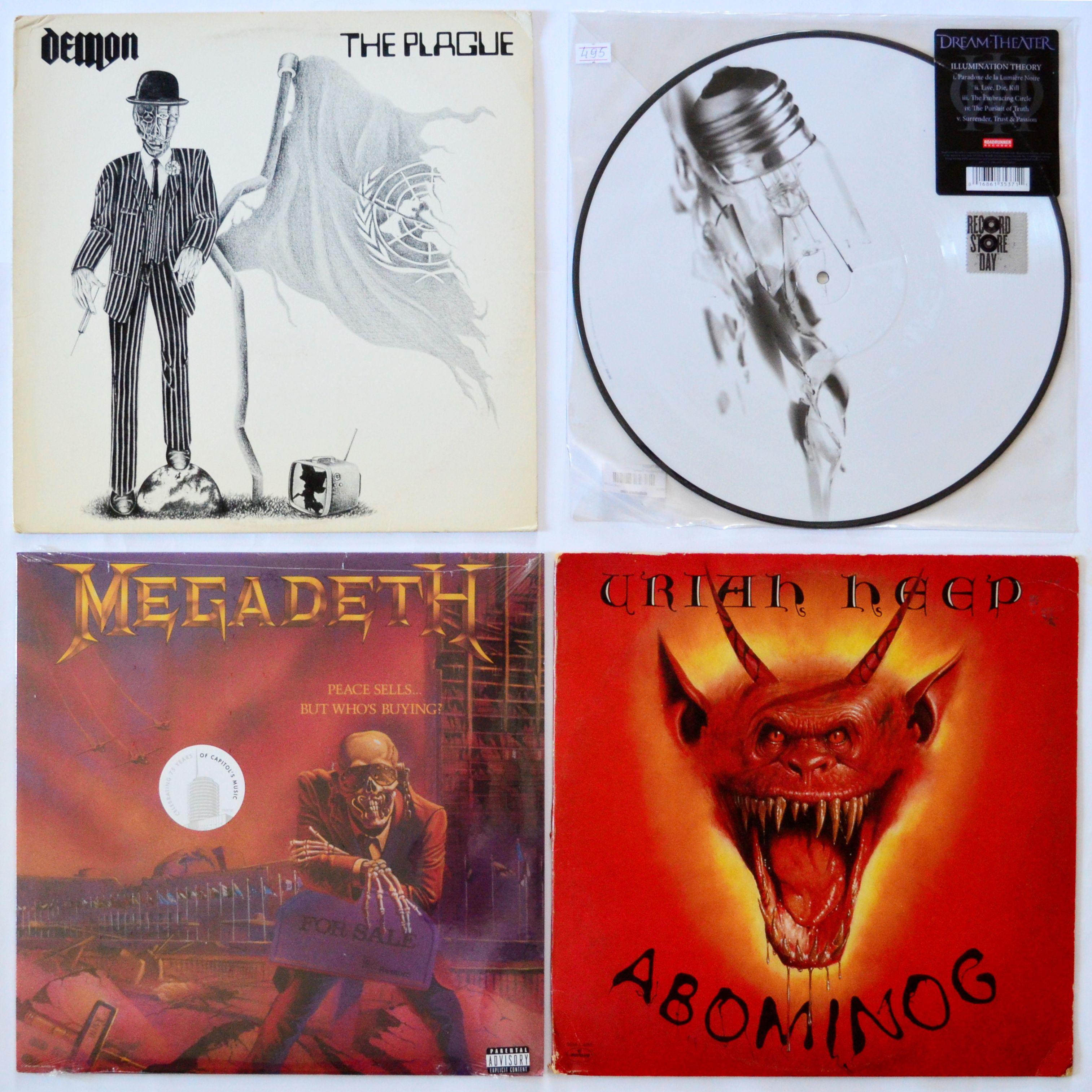Demon The Plague Atlantic Us 1983 4 4 495 Grn Dream Theater Illumination Theory Roadrunner Records Us 2014 5 Megadeth Dream Theater Vinyl