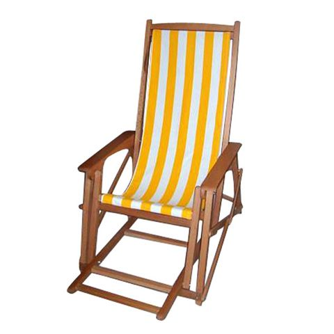 Photo of visual result on how to make wooden deck chairs