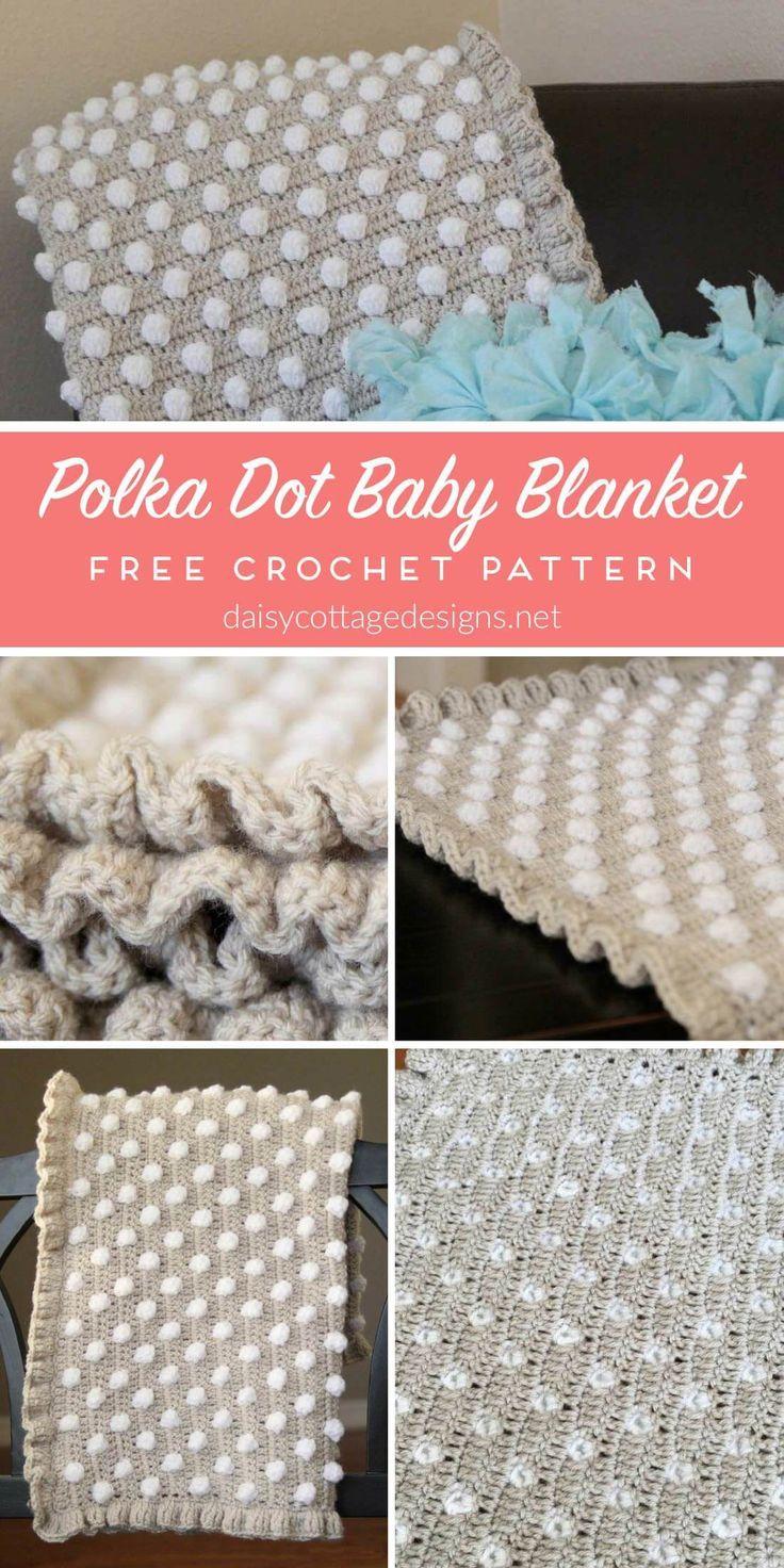 Crochet Baby Blanket Pattern From Crochet Patterns Pinterest
