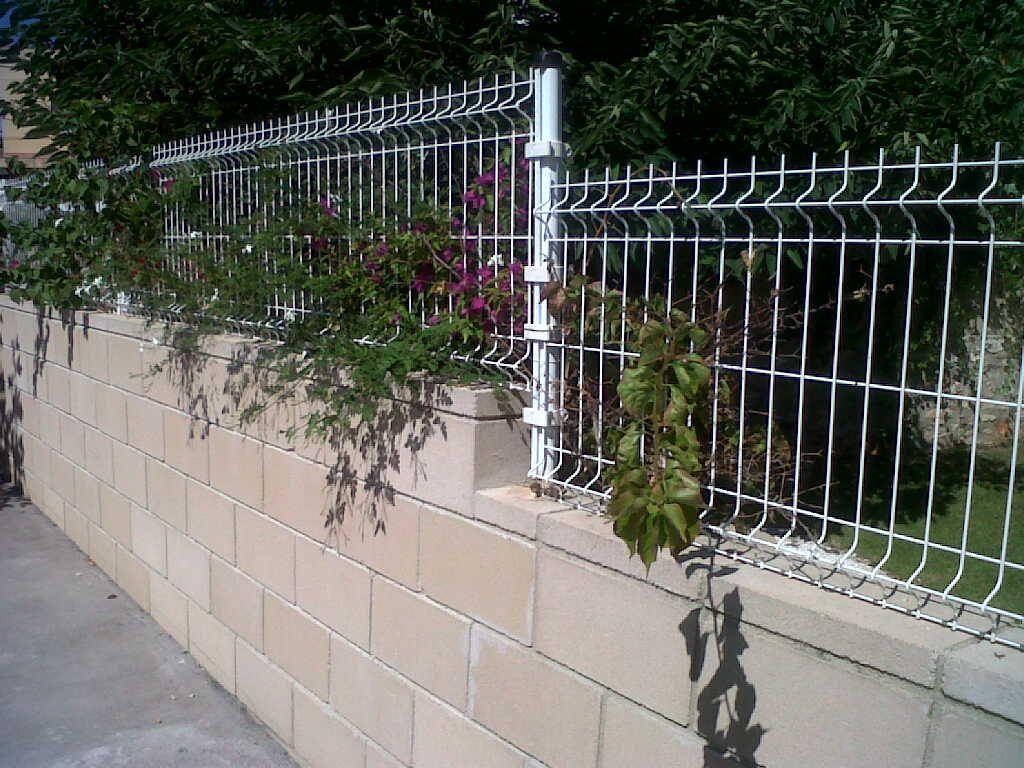Malla electrosoldada jardin