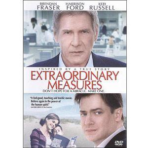 Extraordinary Measures Dvd Walmart Com In 2021 Extraordinary Measures Brendan Fraser Harrison Ford