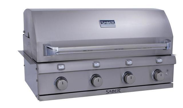 saber 670 4 burner infrared built in gas grill review grilling